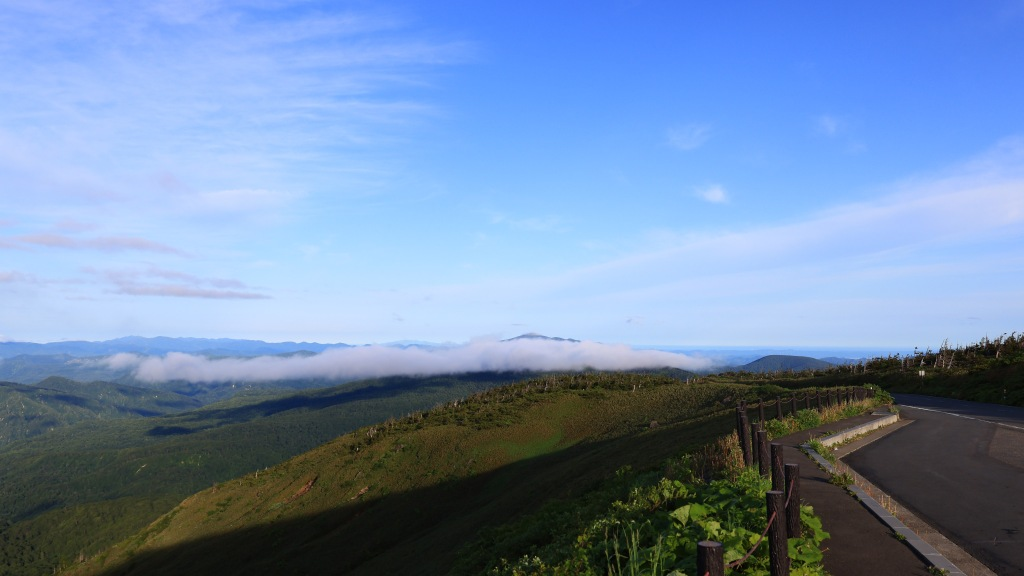 八幡平展望台からの眺め